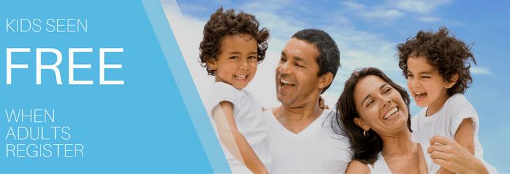 adults register kids free